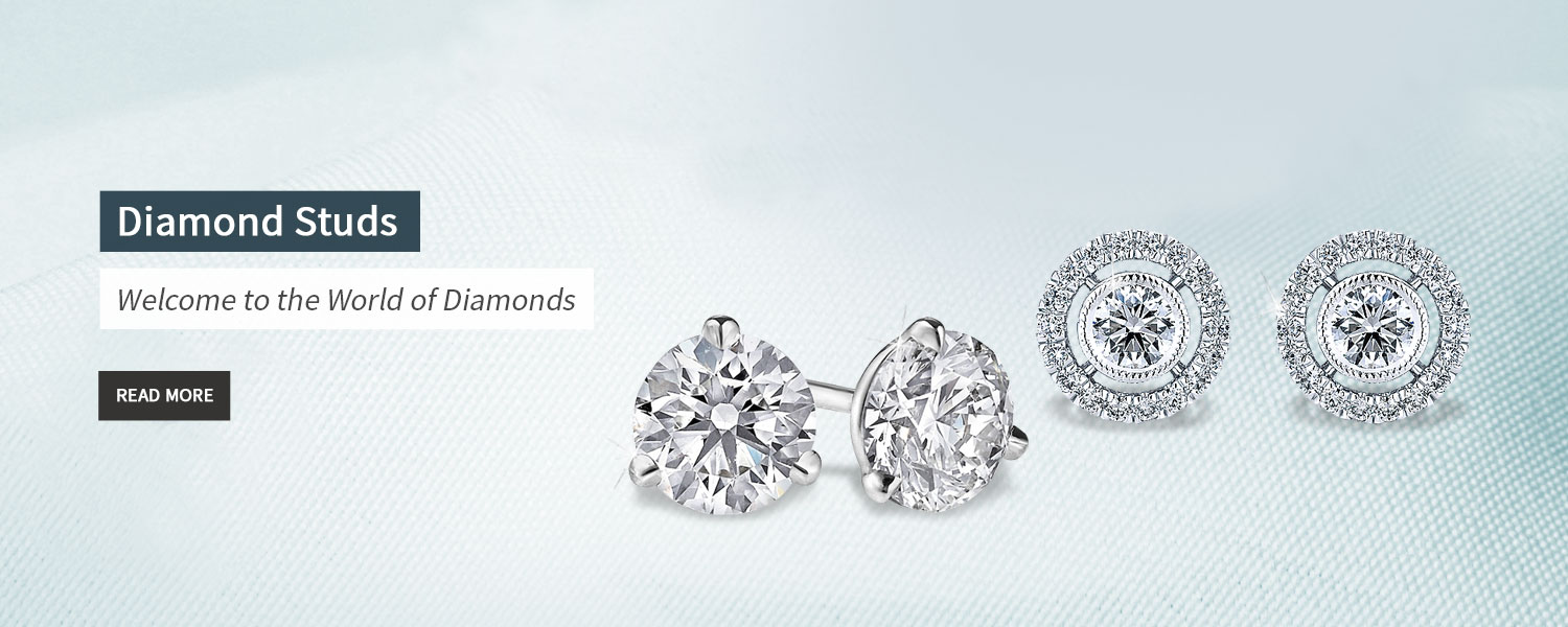 Buy Diamond Studs at affordable price from LNT Diamonds